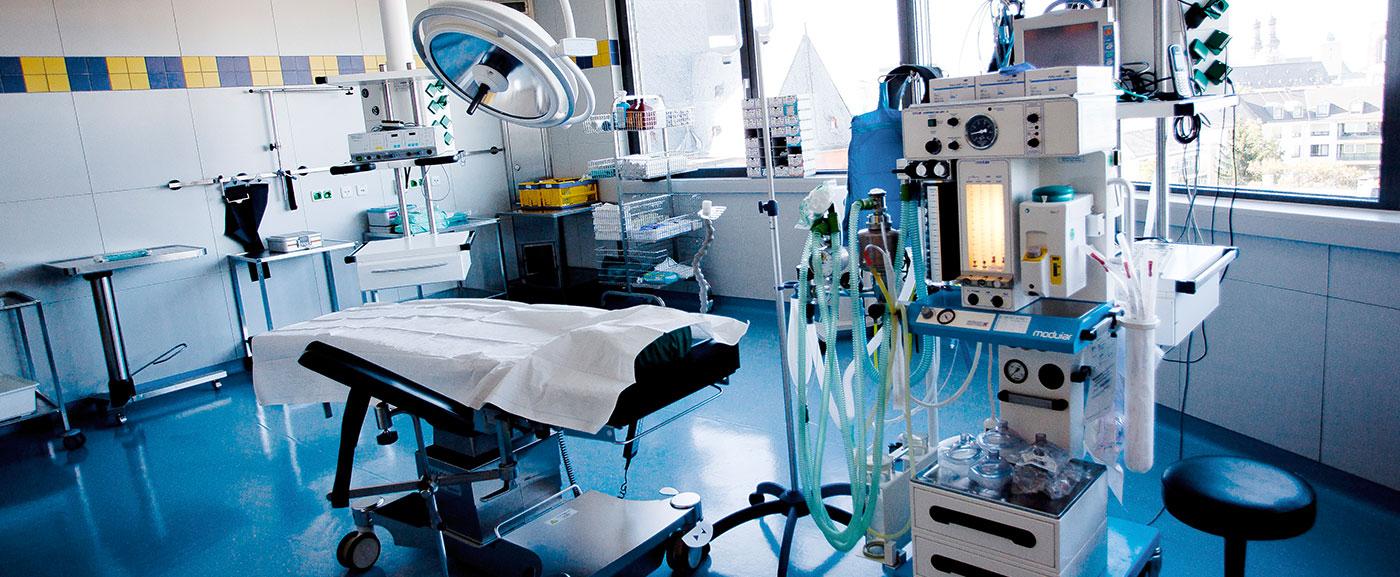 Operationen in der Tagesklinik Am Brand